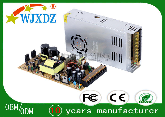 CE ROHS Approved 300W 60A Ultra Thin AC DC Switching Power Supply LED Lighting
